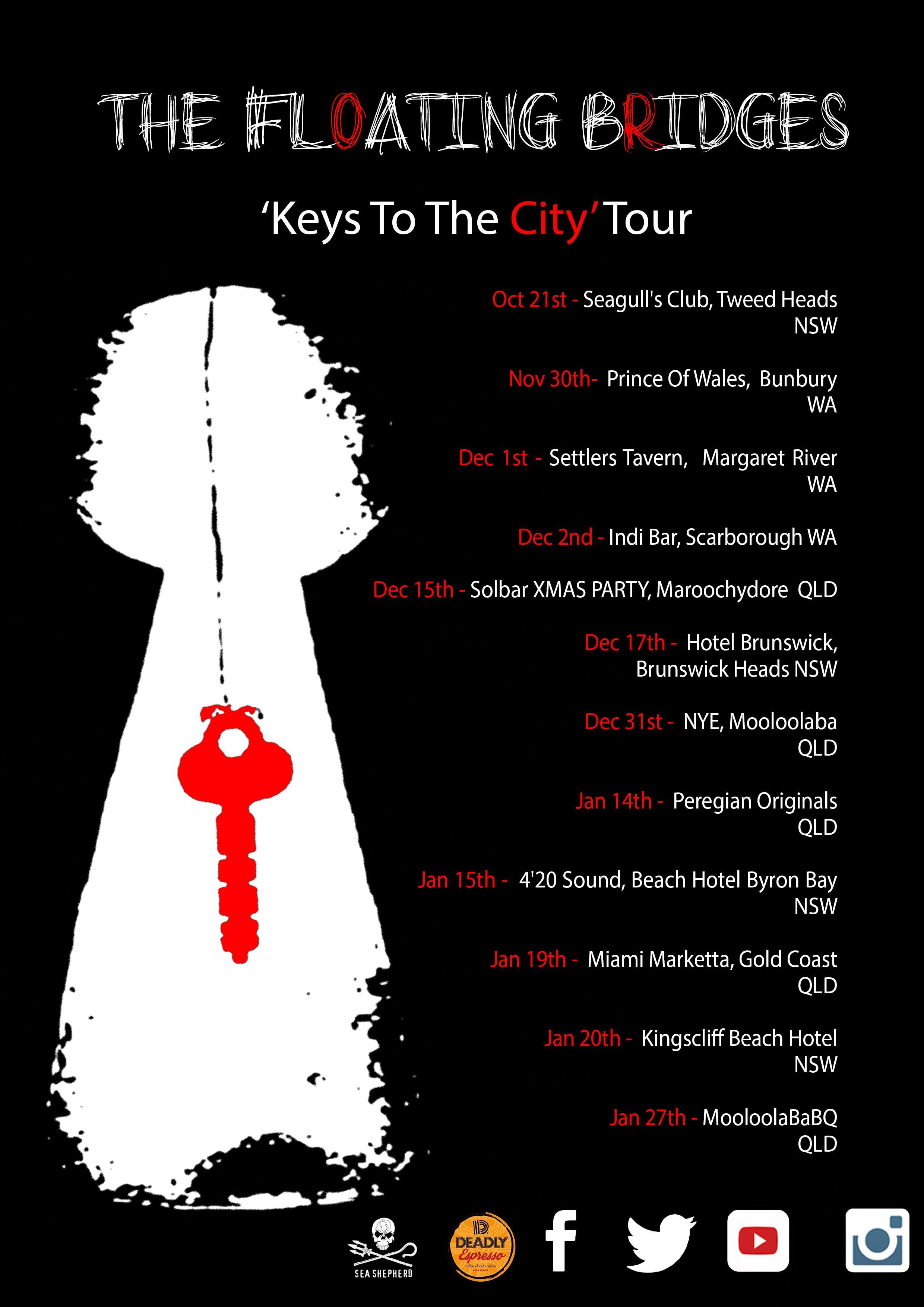 TFB KEYS Tour Poster