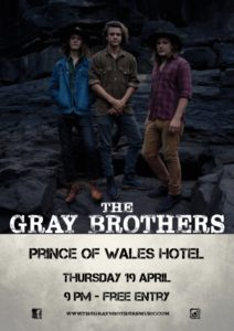 Gray Brothers Poster - Bunbury (Small)