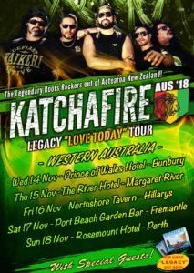 Katchafire - Aus 2018 WA Dates Poster
