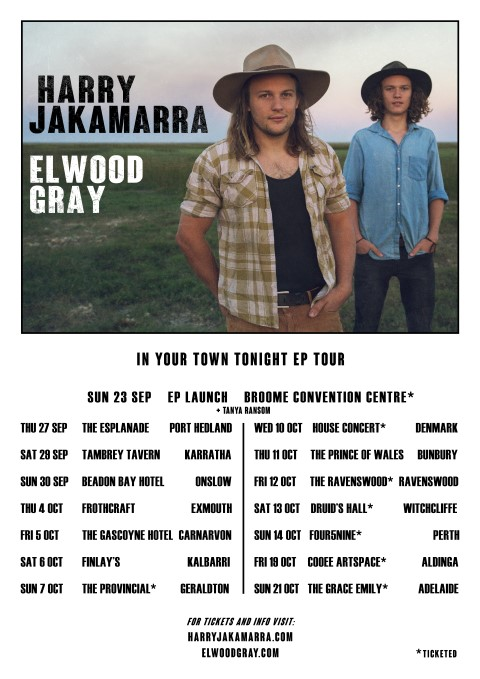 EP TOUR POSTER A3 (Small)