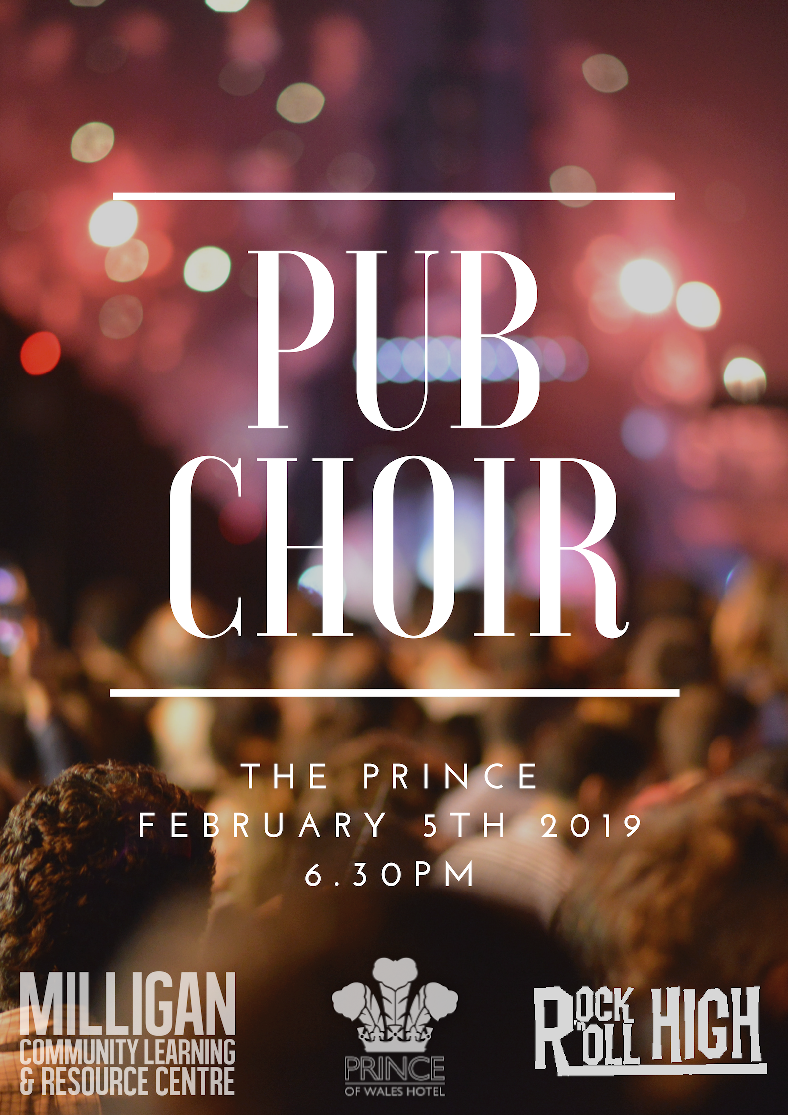 Pub Choir Poster Feb 19