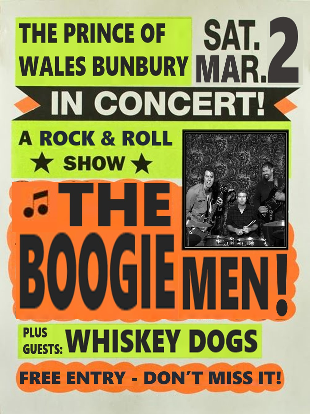 Poster Boogie Men Prince 190302
