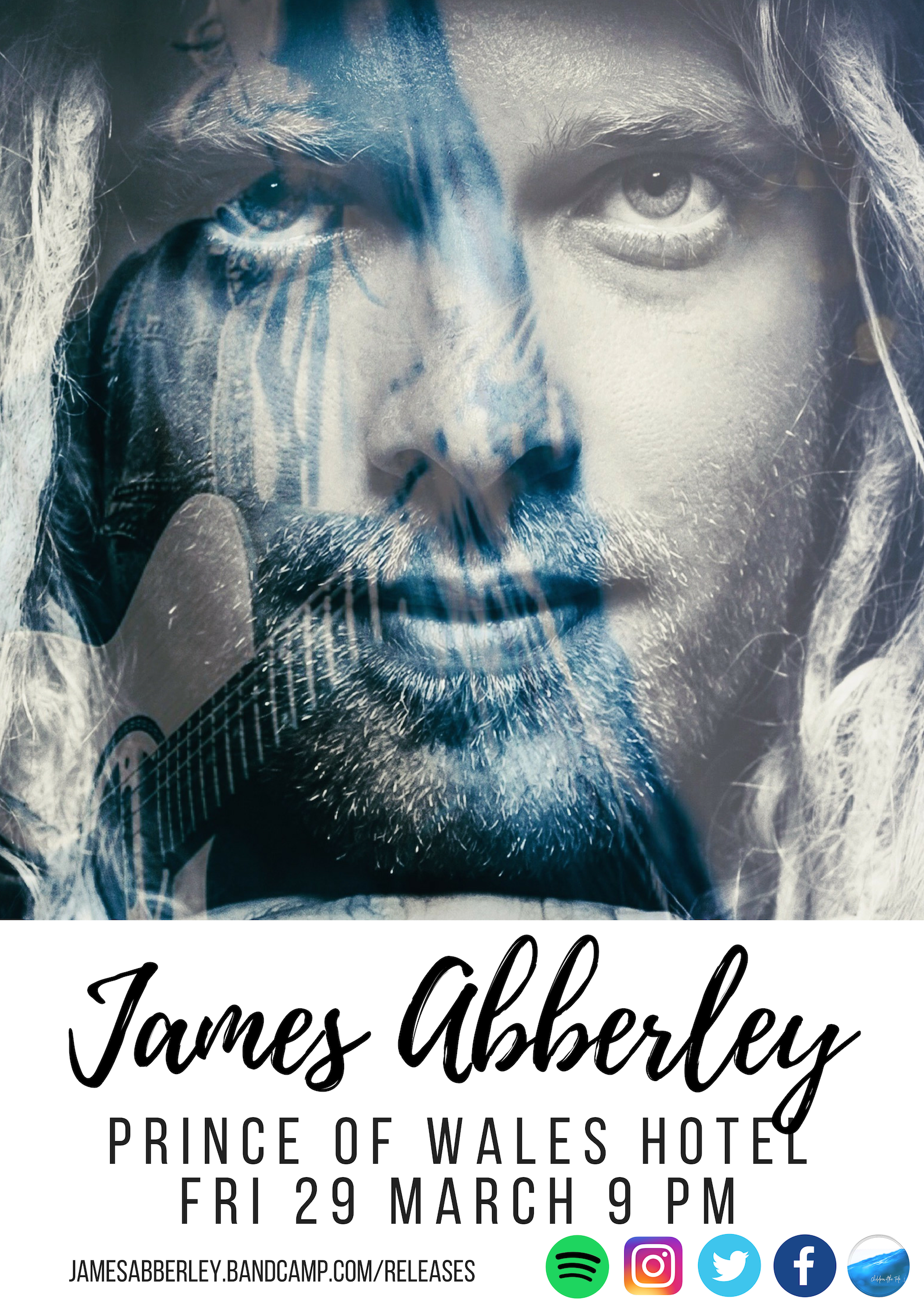 James Abberley 29 March Prince of Wales Poster
