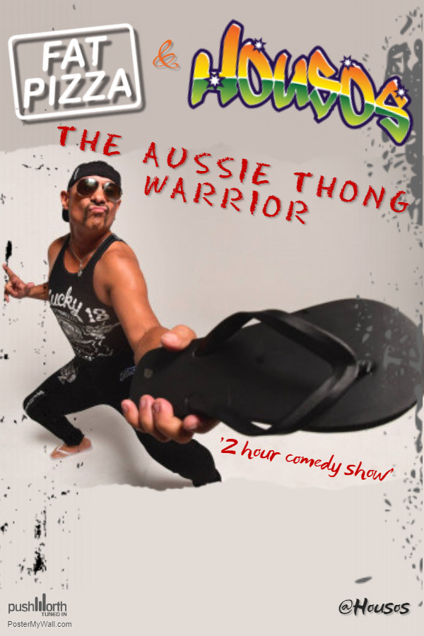 Paul Fenech The Aussie Thong Warrior Poster for Venue