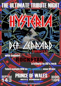 Hysteria @ Prince Of Wales 2019 (Small)