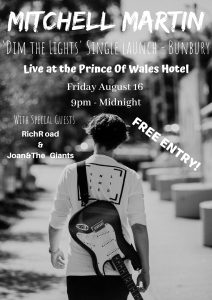 Mitchell Martin Prince Of Wales Poster