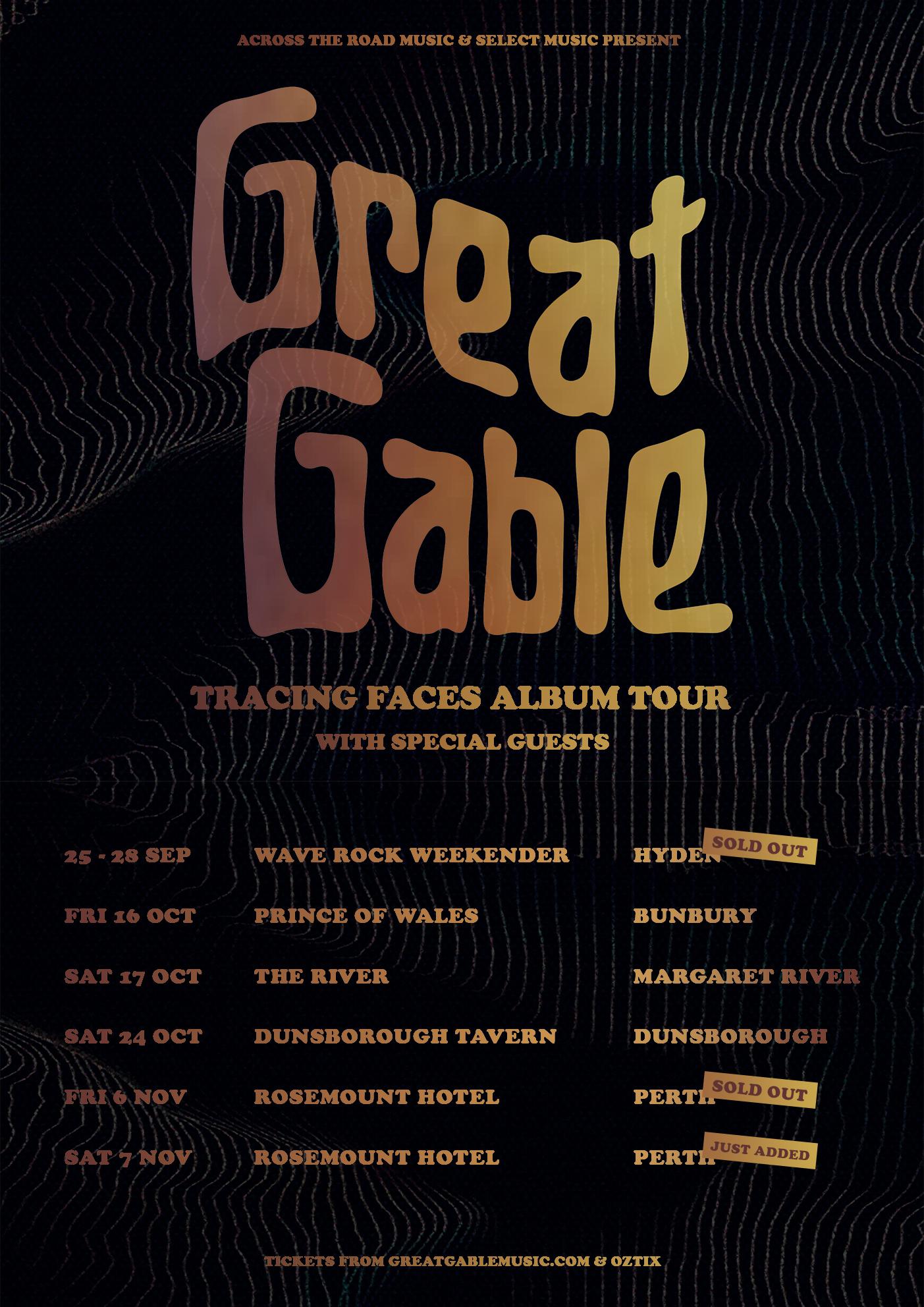 GG Tour Poster - WA