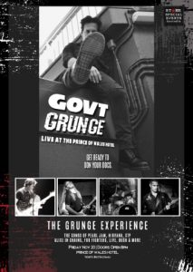 GOVT Grunge - a3 Poster (PRINCE OF WALES Version) (Small)