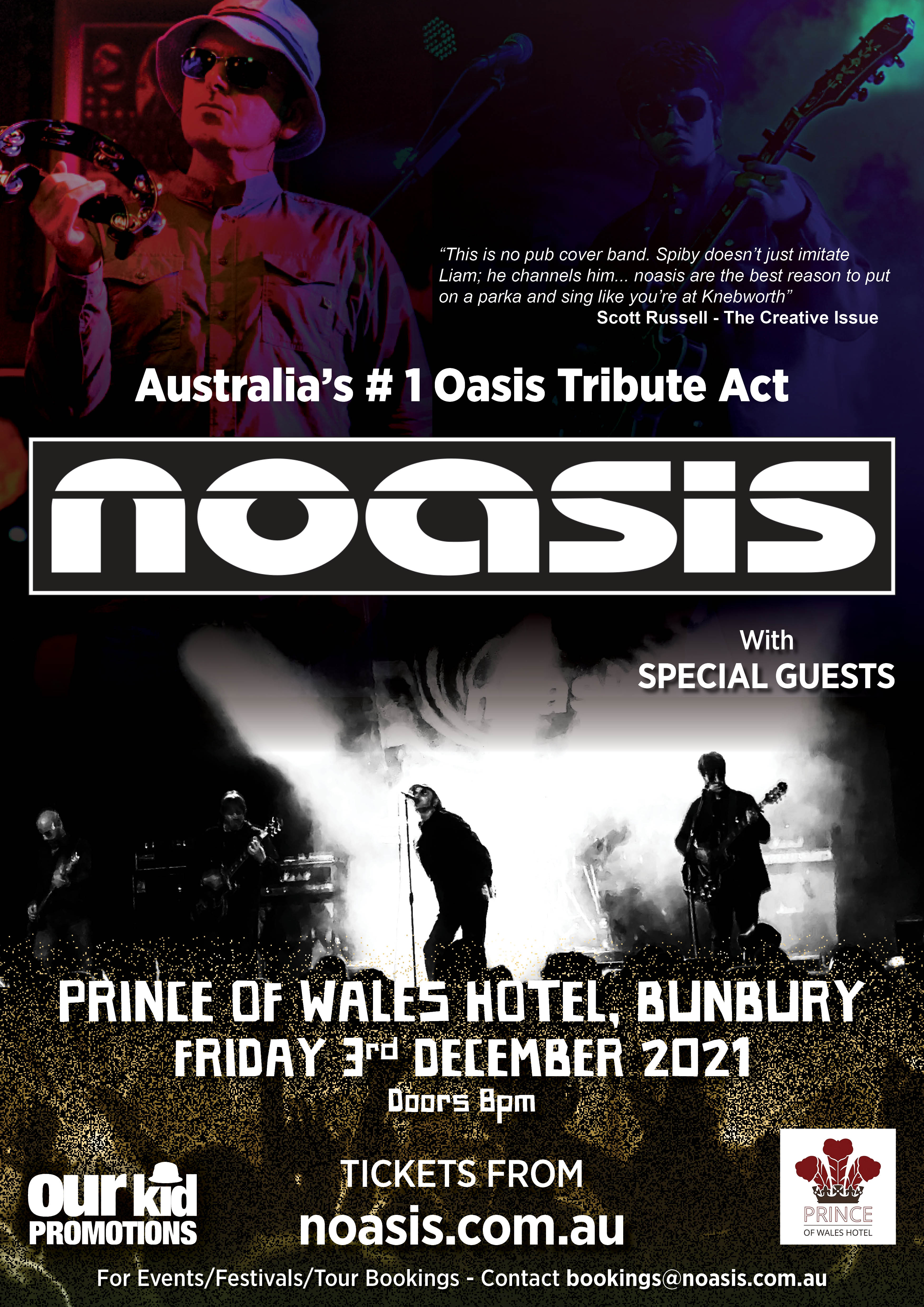 Noasis Prince of Wales Poster_A3