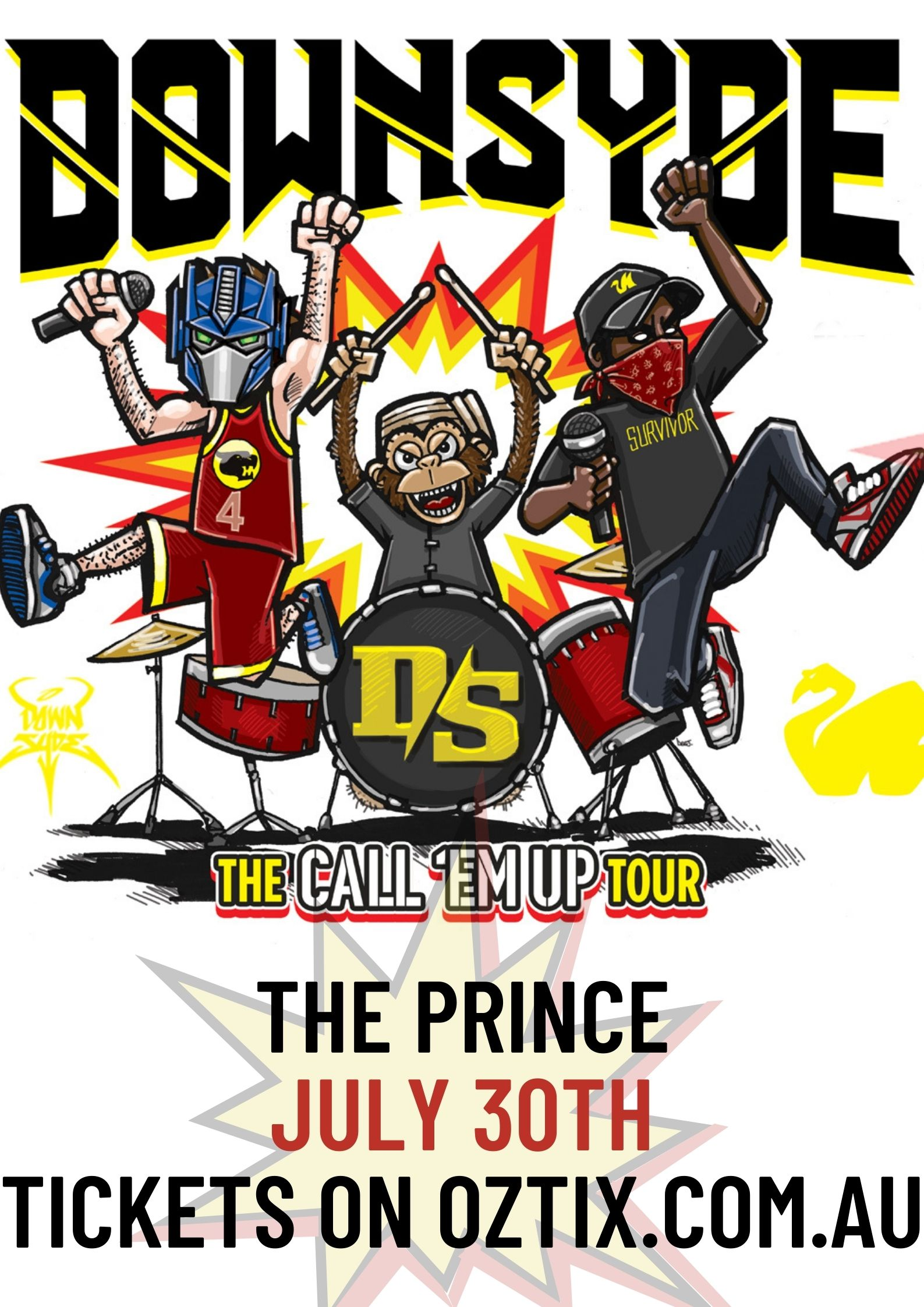 THE PRINCE JULY 30TH TICKETS ON OZTIX.COM.AU